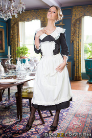 hot maid with sexy