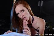amazing brunette revealing stripper