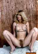 blonde, hairy pussy, pussy, vintage