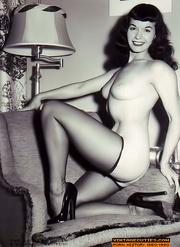 vintage ladies are posing