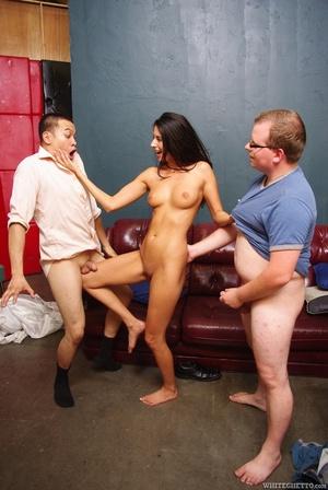 Big tits brunette sheds her white weddin - XXX Dessert - Picture 12