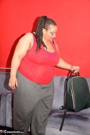 ebony obese slut gets