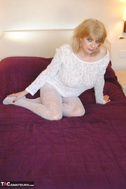 this blonde cougar white