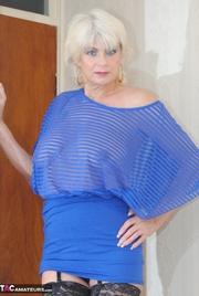this aging slut blue