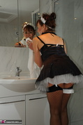amateur, bathroom, uniform, wild