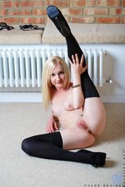 blonde bitch sexy black