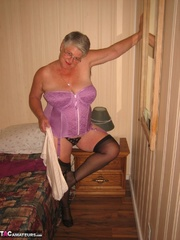 wonderful elderly blonde with