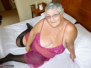 alluring elderly blonde with