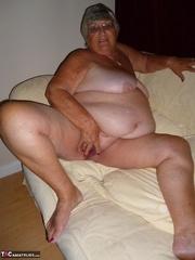 exquisite platinum blonde grandma