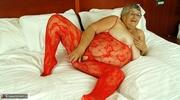 foxy elderly blonde red