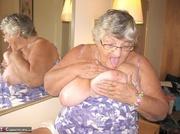hunky platinum blonde grandma