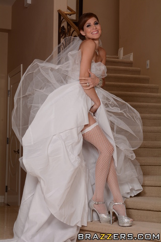 super hot naughty bride