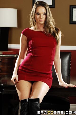 red dress decides anus
