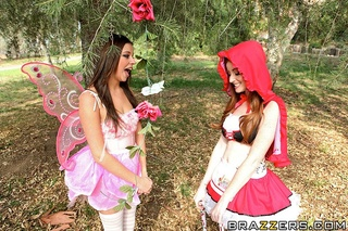 red riding hood wearing