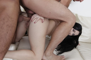 He fists this pale brunette so hard that - XXX Dessert - Picture 13