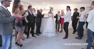 wedding reception turns swingers