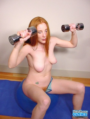 Tempting nude redhead with sexy floppy t - XXX Dessert - Picture 5