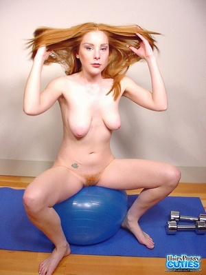 Tempting nude redhead with sexy floppy t - XXX Dessert - Picture 6