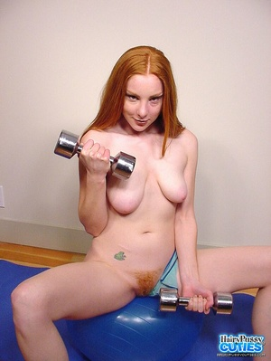 Tempting nude redhead with sexy floppy t - XXX Dessert - Picture 8