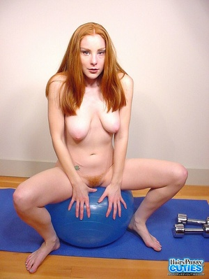 Tempting nude redhead with sexy floppy t - XXX Dessert - Picture 11