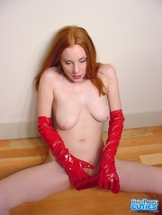 spicy hot redhead with
