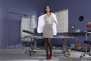 raven haired doctor with