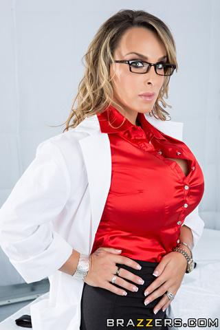 nerdy doctor big tits