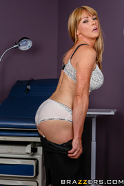 sultry blonde mature took