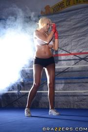 hot blonde bad ass