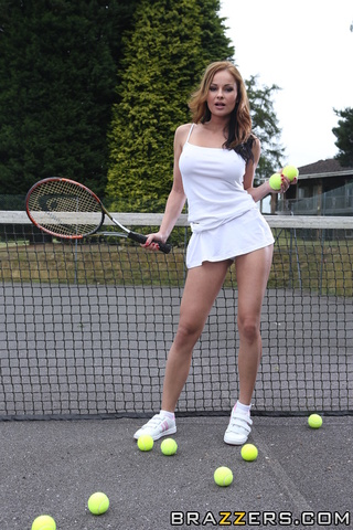 Ball girls tennis