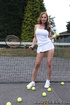 Insanely hot tennis players sucks and fucks in the court