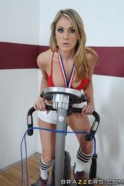 gorgeous blonde athlete fucked