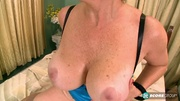 big boobed granny stockings