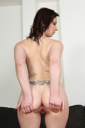 Slightly chubby brunette in pink lingeri - XXX Dessert - Picture 11
