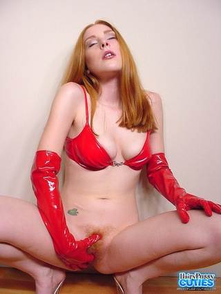 luscious redhead skinny body