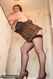 steaming hot granny teases