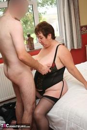 plus size granny black