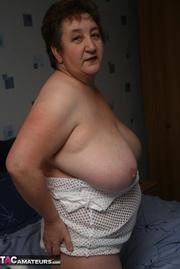 plus size granny white