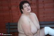 plus size granny takes