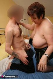 naked granny white chubby