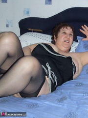 luscious granny lays down