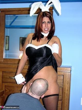 lusty milf teases bald