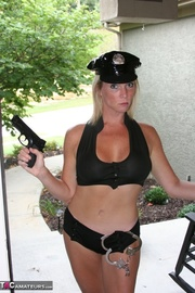 smoking hot police officer