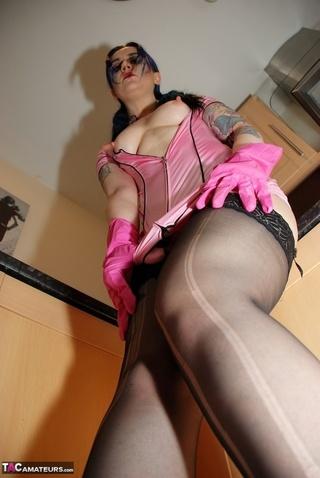 stunning maid displays banging