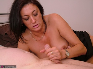Hot babe teases a horny stud with her lu - XXX Dessert - Picture 14