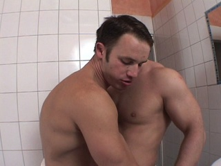 muscled amateur hunks screwing