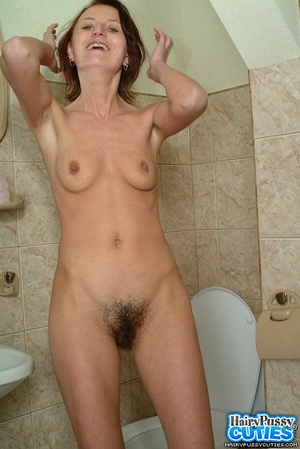Hairy pussy brunette with small breast t - XXX Dessert - Picture 2
