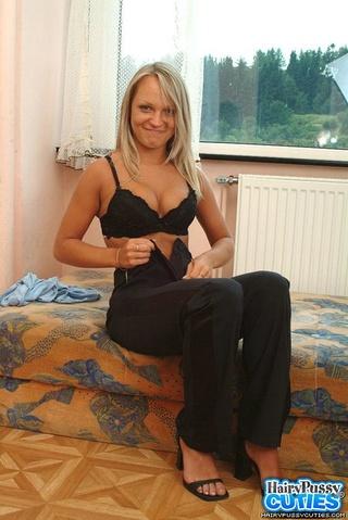 big breasted blonde blue