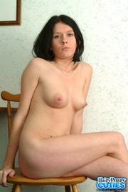 black haired bimbo with