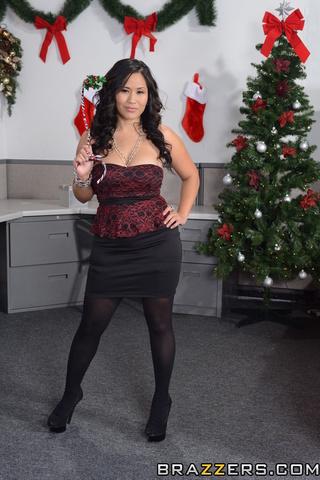 slutty asian black stockings